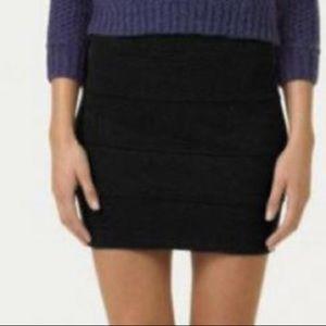 ARITZIA Talula Gina Skirt Black Bandage Bodycon